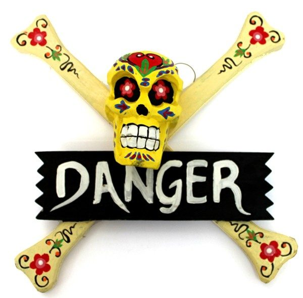 Cartel Danger Calavera