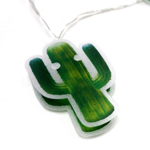 guirnaldas led cactus