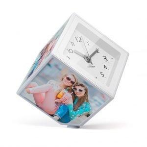 marco fotos reloj cubo