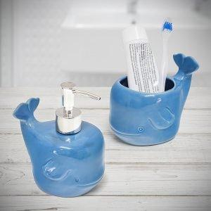 set de baño deep sea azul