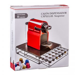 cajón dispensador nespresso