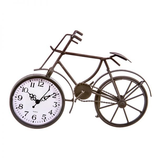 reloj bicicleta metal