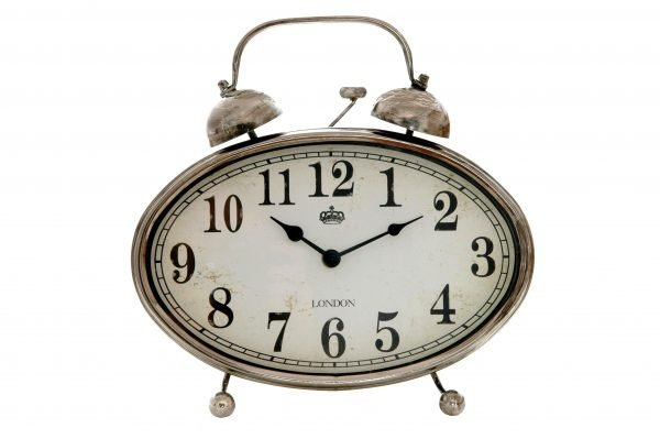 reloj sobremesa ovalado