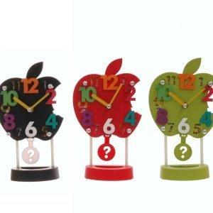 reloj sobremesa manzana