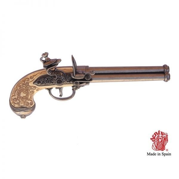 pistola 3 cañones italia 1680