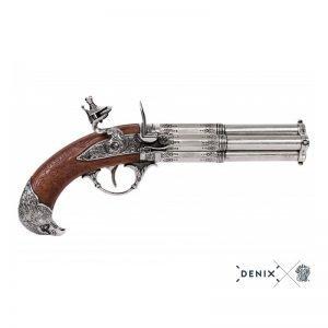 pistola 4 cañones giratorio francia