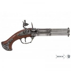 pistola 2 cañones giratorios francia