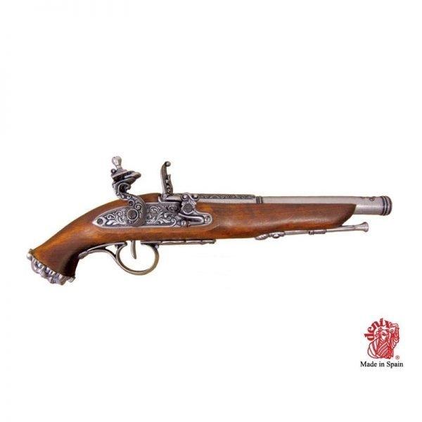 pistola pirata chispa