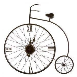 reloj pared bicicleta