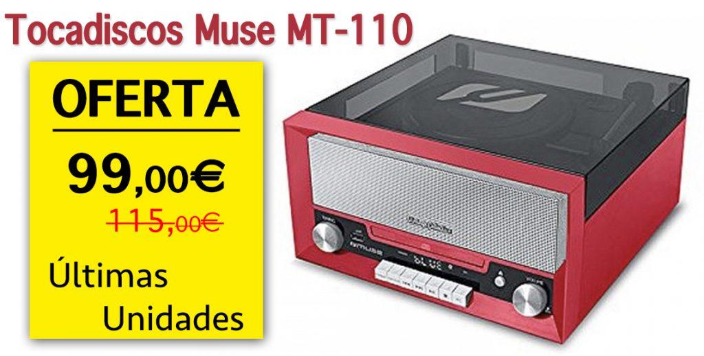 Tocadiscos Muse MT-110