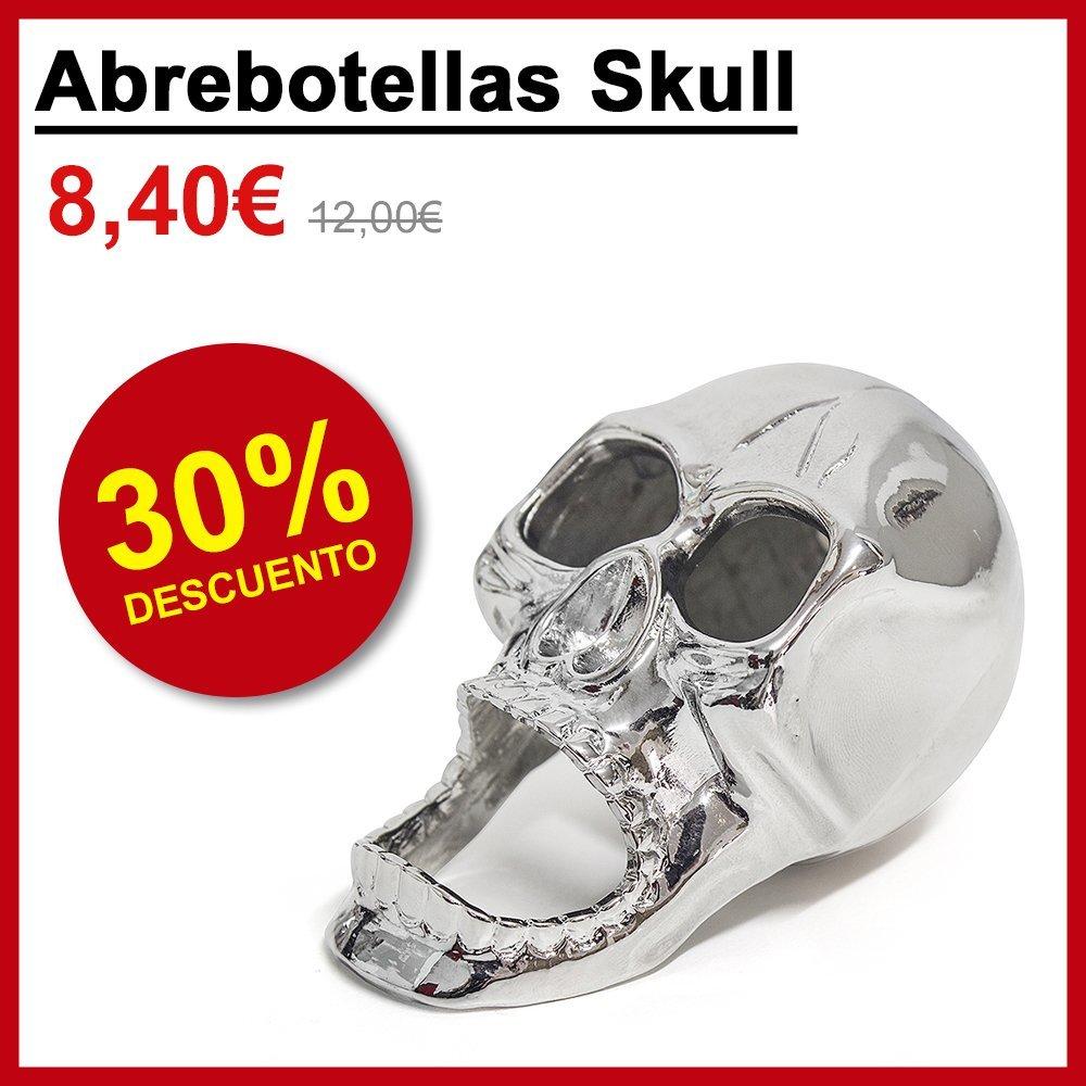 Abrebotellas Skull