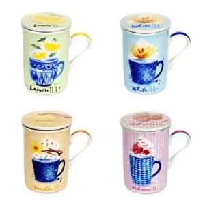 tazas sabores de té