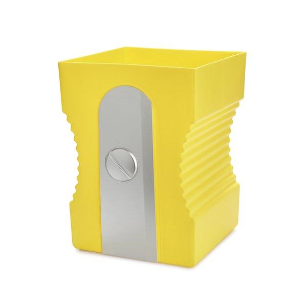 papelera amarila