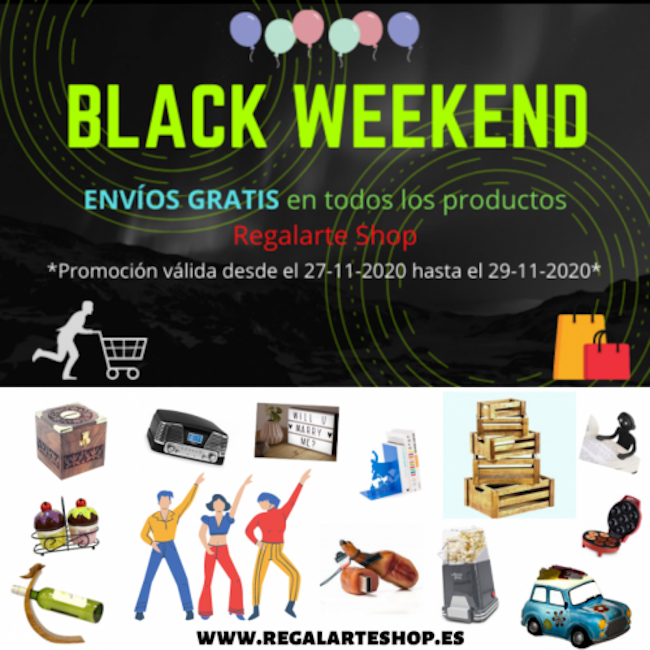 Black Friday Regalarte Shop