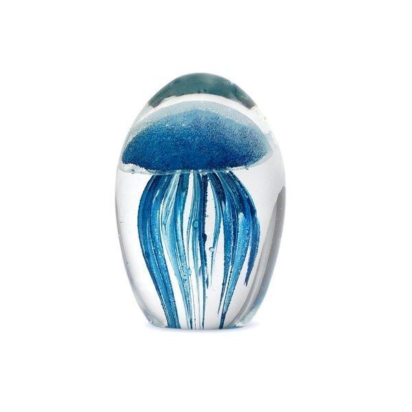 Medusa Cristal Azul 10CM
