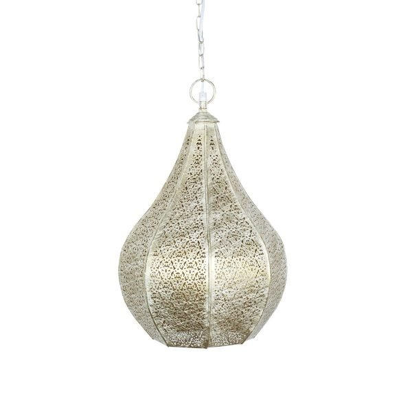 Lámpara Árabe Metal Mediana