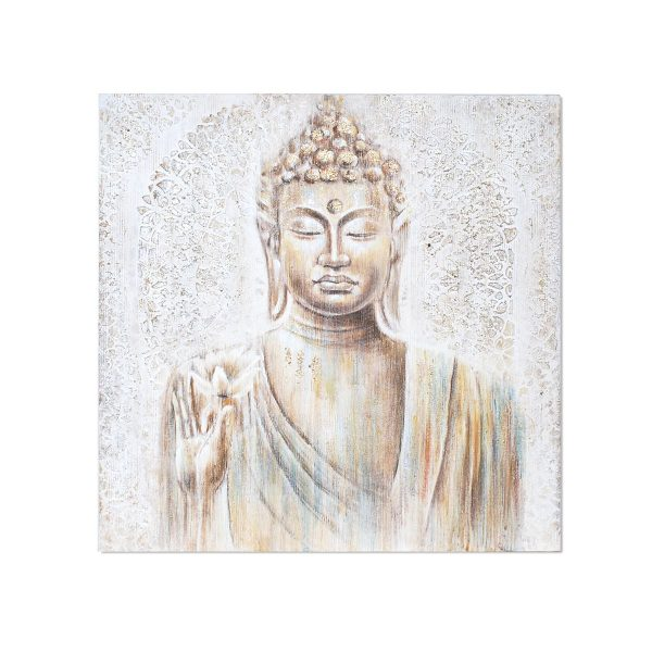 Cuadro Buda Relieve