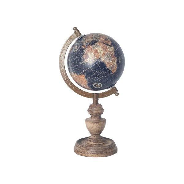 Globo Mundo Vintage Pequeño