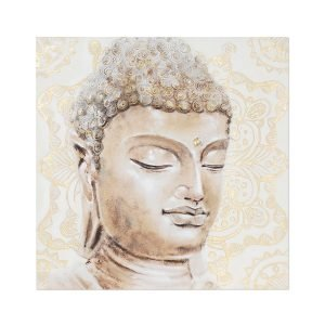 Cuadro Buda Mandala Dorado