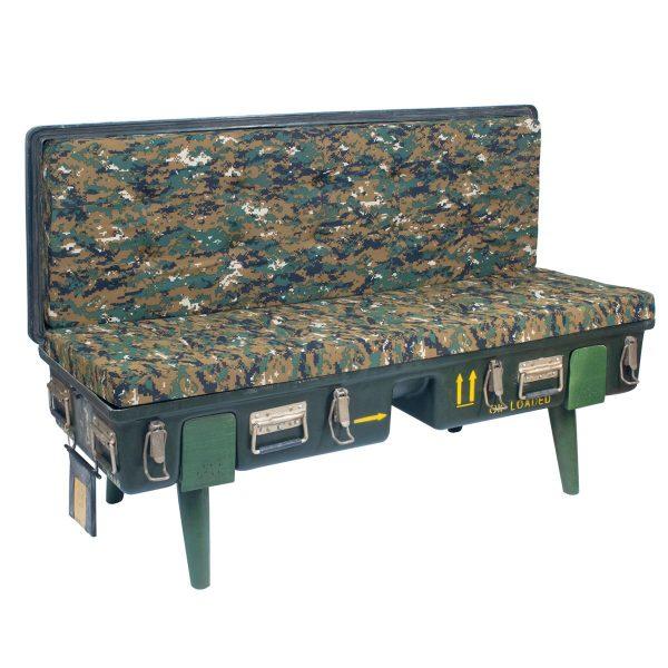 Mueble Sofá Camuflaje