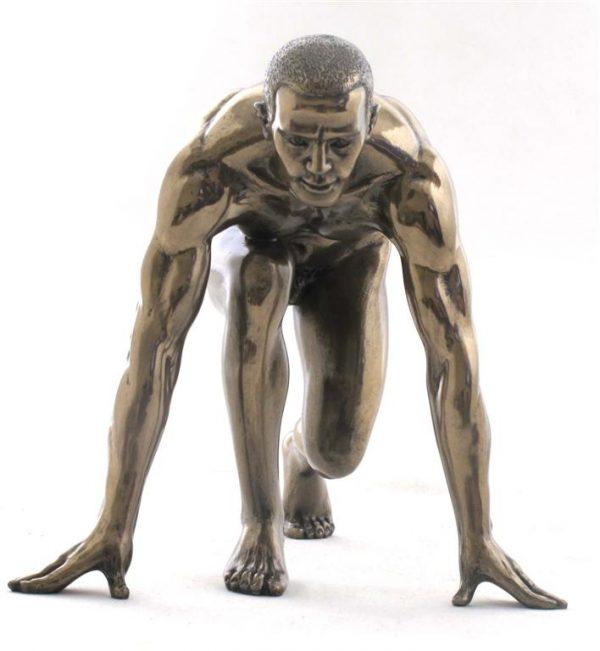 Hombre Postura Correr