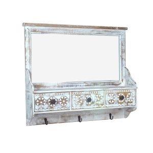 Mueble Percha Espejo