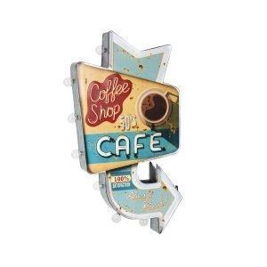 Cartel Café Led