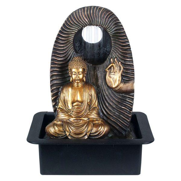 Fuente Mediana Buda Meditación