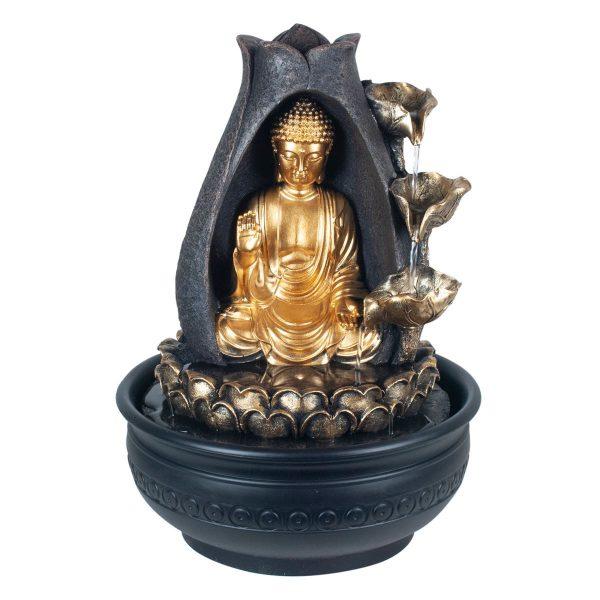 Fuente Mediana Buda Sentado