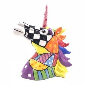Cabeza Unicornio Colores