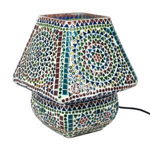 Lámpara Mesa Mosaico Tradicional