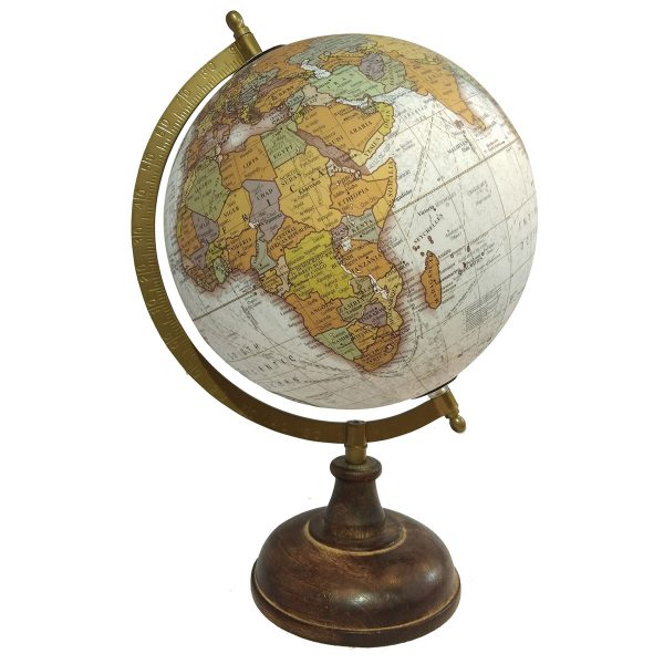 Globo Mundo Base Envejecida