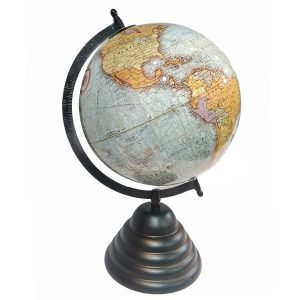 Globo Mundo Base Esmalte