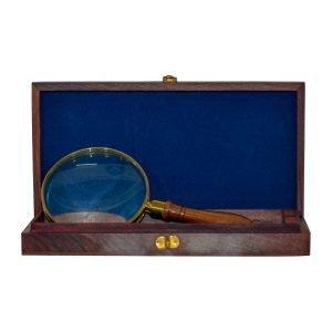 Lupa Vintage Caja