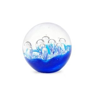 Pisapapel Azul burbujas