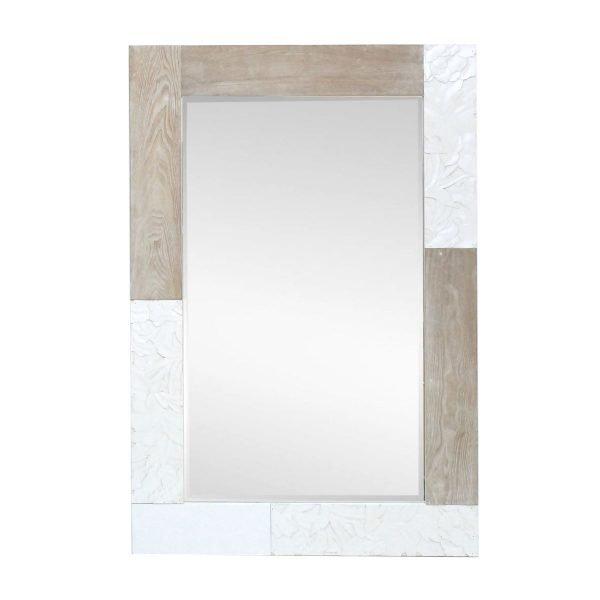 espejpo con marco madera