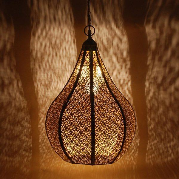 Lámpara Árabe Metal techo