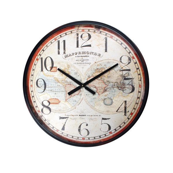 reloj mesa redondo