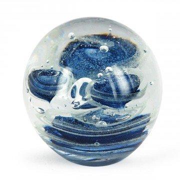 cristal esfera azul