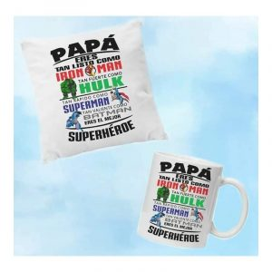 regalo papá superhéroe