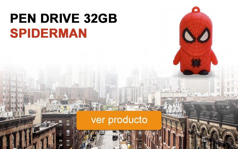 Pen Drive 32GB Spiderman