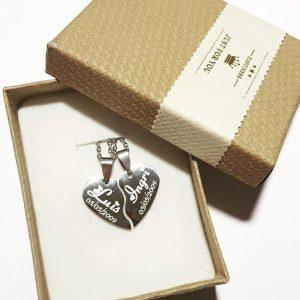 collar corazon